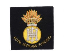 RHF Blazer Badge (Wired)